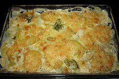 Brokkoli - Kartoffel - Auflauf 1