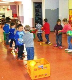 Mardi, les enfants ont joué à deux relais mettant en jeu la ccopération. Ces jeux ne sont pas possibles en début d'année, mais à cette...