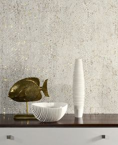 Home - Exclusive Wallcoverings Omexco Metallic Wallpaper, Wallpaper Decor, Bedroom Decor, Wall Decor, Tv Wall Design, Creative Walls, Textured Walls, Decoration, Living Room Designs