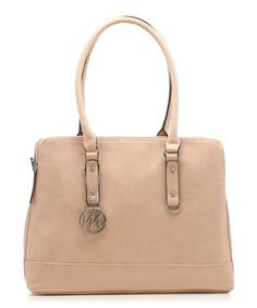 Look what I found on #zulily! Peach Kimberley Tote by emilie m. #zulilyfinds