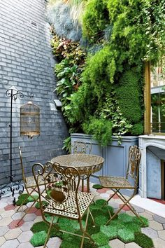 Parisien style backyard, Beautiful idea