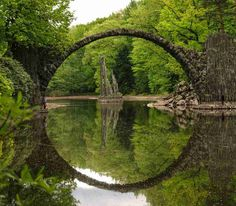 Devil's Bridge (Germany) - This bridge dates back to 1860s and is built to…