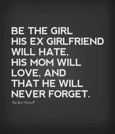 That's how it should b ladies.