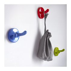 KROKIG Wall hook IKEA Hang the hooks at a child-friendly height so children can help keep their things tidy.