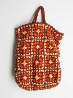 Items similar to Crochet Tote Bag on Etsy Bag Crochet, Diy Crochet And Knitting, Crochet Granny, Crochet Clothes, Crochet Stitches, Crochet Geek, Knitting Patterns, Sewing Patterns, Crochet Patterns
