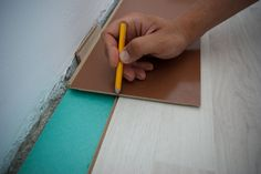 This step by step diy article is about how to cut laminate flooring lengthwise. Cutting laminate flooring boards along walls is not difficult if you use a jigsaw. Types Of Wood Flooring, Installing Laminate Flooring, Diy Flooring, Wood Laminate, Plank Flooring, Flooring Ideas, Grey Hardwood Floors, Engineered Hardwood Flooring, Peel And Stick Floor