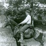 NC Wyeth on Horseback  Needham's Famous Son