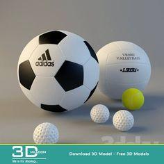 cool 03. Sport 3D model free download Download here: http://3dmili.com/decoration/sports/03-sport-3d-model-free-download.html