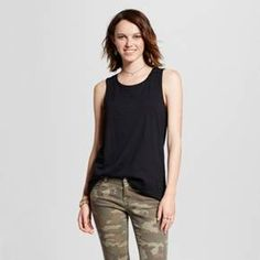Women's Muscle Tank Top - Mossimo Supply Co.™ : Target