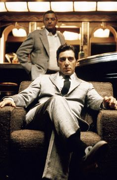 """themaninthegreenshirt: """"""""I don't feel I have to wipe everybody out, Tom. Just my enemies."""" - Al Pacino, The Godfather Part II [1974] """""""
