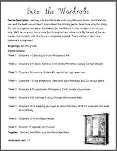 Worksheet The Lion The Witch And The Wardrobe Worksheets the witch lion and witches on pinterest a complete lesson plan w downloads for c s lewis into wardrobe so