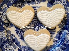 Wedding Cookies by Melicious Little Bites