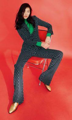 SHE COMES IN COLORS..... global-fashions: Liu Wen -GRAZIA CHINA SEPT. 2..... BELLA DONNA'SLuxeDesigns