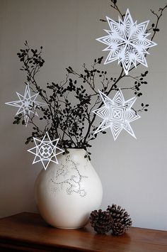 snowflakes & stars, via Flickr.