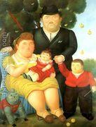 A Family I  by Fernando Botero
