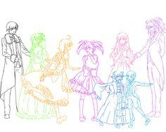 Raven, Rena, Ara, Aisha, Lu, Chung, Eve, Add (Elsword) Who knows the Bad ∞ End ∞ Night