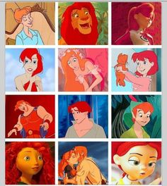 Disney loves gingers / redheads