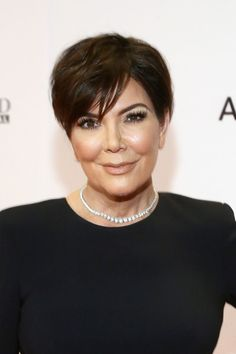 Kris Jenner Short Side Part - Kris Jenner attended the Race to Erase MS Gala wearing her signature short side-parted cut.