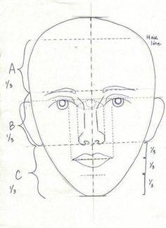 Välivärit - väliväriveijari - kasvojen mittasuhteet (taustaa).