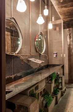 Casas de banho industriais por SZTUKA  Laboratorio Creativo de Arquitectura