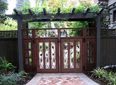 contoh model desain pagar rumah bernuansa klasik merupakan