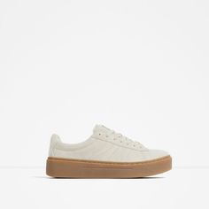 ZARA - WOMAN - CHUNKY SOLE LEATHER SNEAKERS
