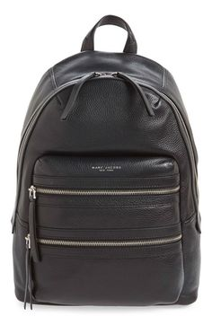 MARC JACOBS 'Biker' Leather Backpack. #marcjacobs #bags #leather #backpacks
