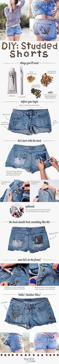 Denim shorts are a classic wardrobe staple that will probably (hopefully) never go out of style. Denim cut-offs keep you cool on the hottest days while also looking keeping you American-chic (it's a thing. I just made it up). They're comfy, they're versatile, and they're super simple to wear. They're the best! The only negative … Read More
