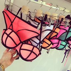 Triangl bathing suits are perfect for the upcoming summer season. Not only do they offer amazing colours / colour combinations, they fit perfectly, and they're made of neoprene Summer Suits, Summer Wear, Summer Time, Enjoy Summer, Cute Bikinis, Cute Swimsuits, Trendy Swimwear, Summer Bikinis, Looks Pinterest