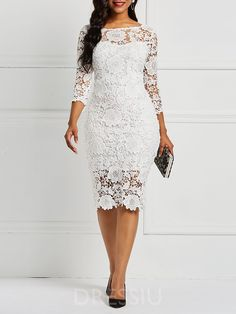 Product Name:African Fashion Three-Quarter Sleeve Sexy Floral Women's Lace Dress Category:Women/Women's Clothing/Women Dresses/Lace Dresses Material:L Lace Dress Styles, African Lace Dresses, Latest African Fashion Dresses, Women's Fashion Dresses, Nigerian Lace Dress, Lace Dress With Sleeves, Floral Lace Dress, The Dress, Floral Dresses