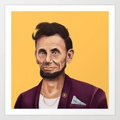 Abraham Lincoln https://www.facebook.com/AmitShimoniIllustration?ref=hl