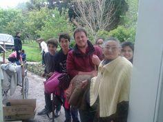 Pasaron una hermosa tarde de servicio compartiendo la tarde con los abuelos del Geriátrico Municipal
