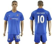 Chelsea #10 Hazard Home Soccer Club Jersey