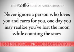 #2386, Facebook, The rules of a relationship