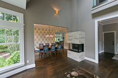 Chevy Chase Residence contemporary-dining-room