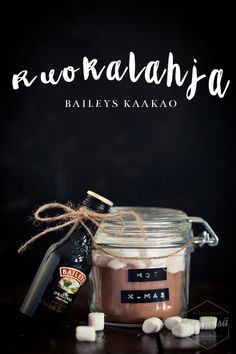 RUOKALAHJA IDEA - BAILEYS KAAKAO – Liemessä Joululahja I Idea I Resepti I Ohje I Christmas present idea I Food photography Diy Christmas Gifts For Friends, Diy Christmas Presents, Christmas Hacks, Winter Christmas, Xmas Gifts, Handmade Christmas, Diy Gifts, Christmas Time, Christmas Crafts