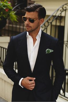 Happy Weekend by Johannes Huebl | LVSH I like the jacket & ascot #menstyle #suits