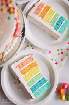 I am beyond excited to finally be sharing Ella's Rainbow Unicorn Party today. It was an exclusive feature on HWTM last week w. 5th Birthday Party Ideas, Tea Party Birthday, Unicorn Birthday Parties, Princess Birthday, Birthday Cakes, Happy Birthday, Rainbow Layer Cakes, Cake Rainbow, Giant Cake