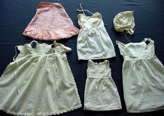 Lot of Victorian & Edwardian Doll Clothe's. c.1900 by chalcroft, $22.00