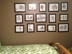 A pic from one of my customers and the lacrosse art framed and hung up in her son's bedroom.
