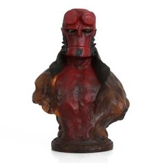 SalsaToys Statue-Bust-HELLBOY-movie22cm-handmade-resin-sculpture-action-figure-hell-boy