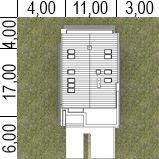Sytuacja HG-I22 CE House Layout Plans, Dream House Plans, House Layouts, How To Plan, House Styles, Houses, Design, Homes