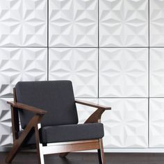 Facet Hanging Wall Flat System - 3D Wall Panels