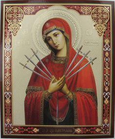 HOLY VIRGIN MARY SEVEN ARROWS