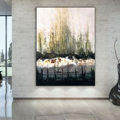 Large Abstract Painting Wall art decor Large wall art image 4 Large Canvas Wall Art, Abstract Canvas Art, Extra Large Wall Art, Modern Wall Decor, Wall Art Decor, Colorful Artwork, Office Wall Art, Large Painting, Contemporary Art