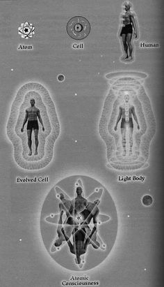 Vintage illustration of the Development of Consciousness.