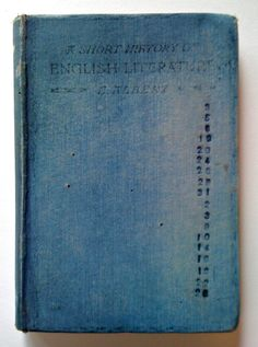 Weathered Book cover  stamped dates  (hannahgsmith)