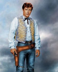 Robert Fuller - 8 x 11 - Metek - Artwork-Production Vintage Hollywood, Classic Hollywood, Celebrities Who Died, Celebs, Robert Fuller Actor, Karen Richards, Most Handsome Actors, Richard Williams, The Rifleman