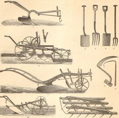 1904 Agricultural Machinery Agricultural by CabinetOfTreasures, $16.95