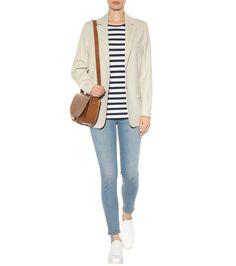 Skin 5 Mid Vintage blue skinny jeans